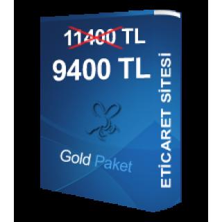 Gold Eticaret Paketi