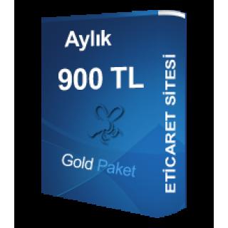 Kiralık Gold Eticaret Paketi